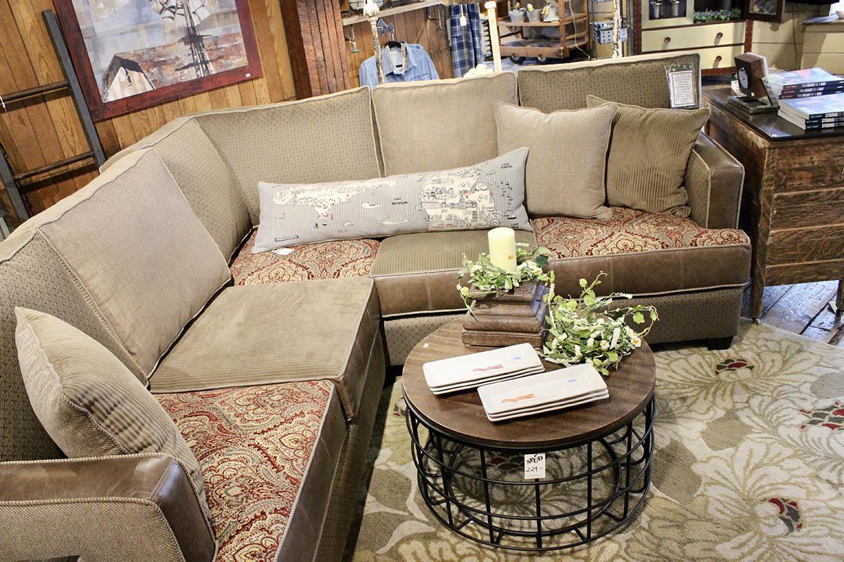 Old Spud Warehouse Gaylord Michigan Custom Sofa