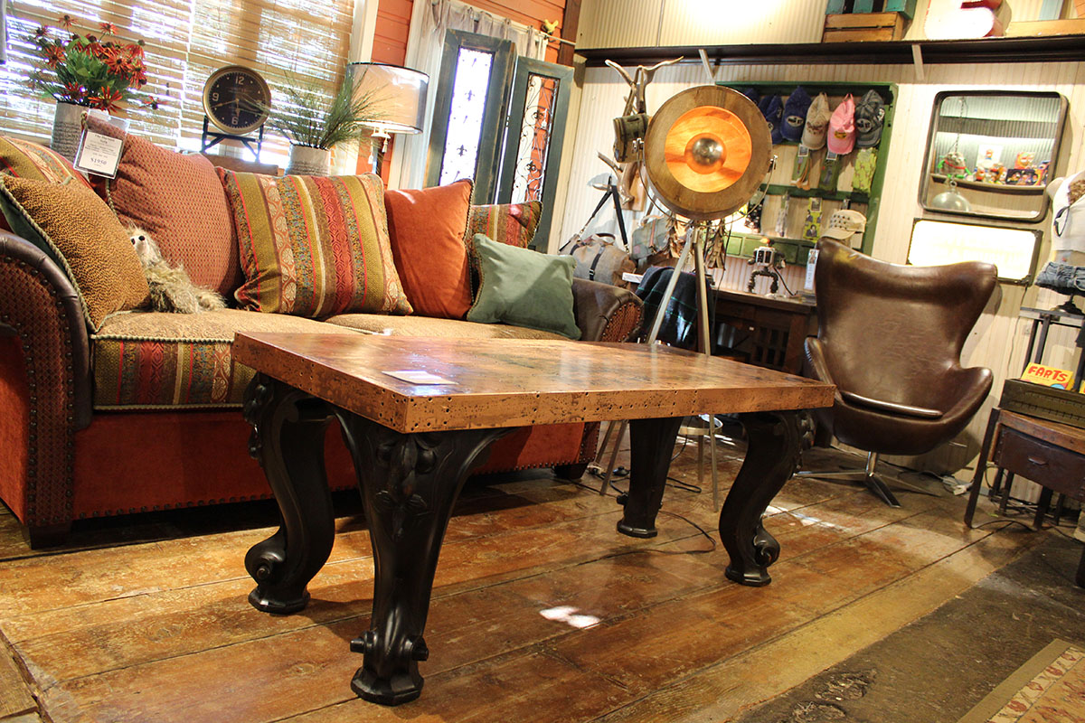 One of a Kind Furnishings at Old Spud Warehouse